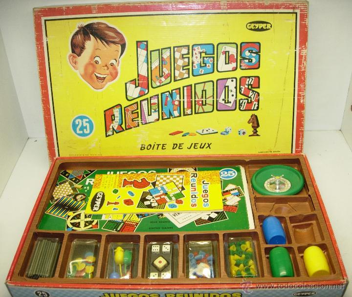 Juegos Reunidos Geyper 25 Anos 60 70 Comprar Juegos De Mesa