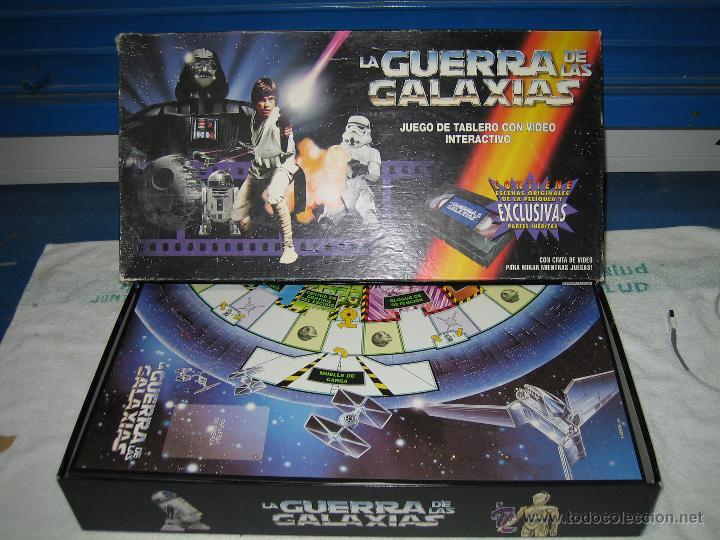 JUEGO DE LA GUERRA DE LAS GALAXIAS DE PARKER 1996 (Juguetes - Juegos - Juegos de Mesa)