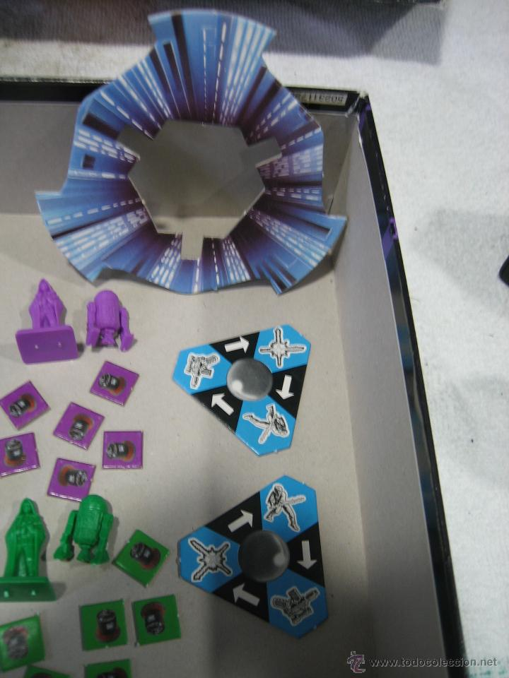 Juegos de mesa: Juego de la guerra de las galaxias de Parker 1996 - Foto 5 - 46811336