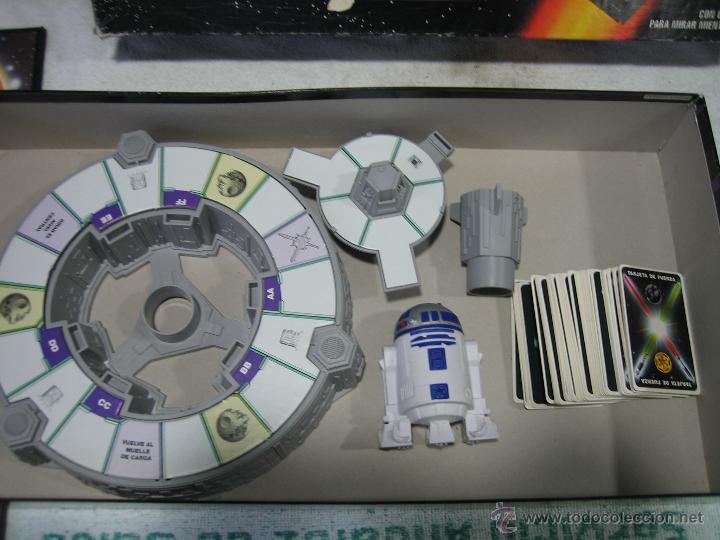 Juegos de mesa: Juego de la guerra de las galaxias de Parker 1996 - Foto 9 - 46811336