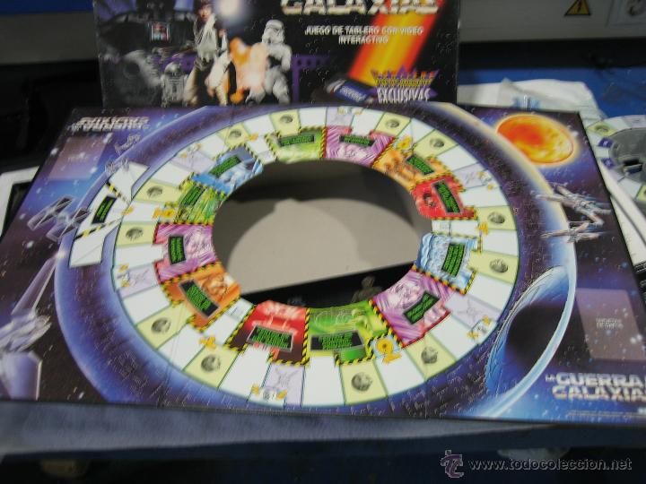 Juegos de mesa: Juego de la guerra de las galaxias de Parker 1996 - Foto 14 - 46811336