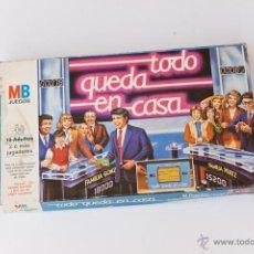 Juegos de mesa: TODO QUEDA EN CASA. Lote 46874173