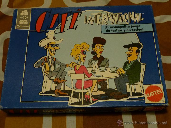 Cafe Internacional De Mattel Comprar Juegos De Mesa Antiguos En