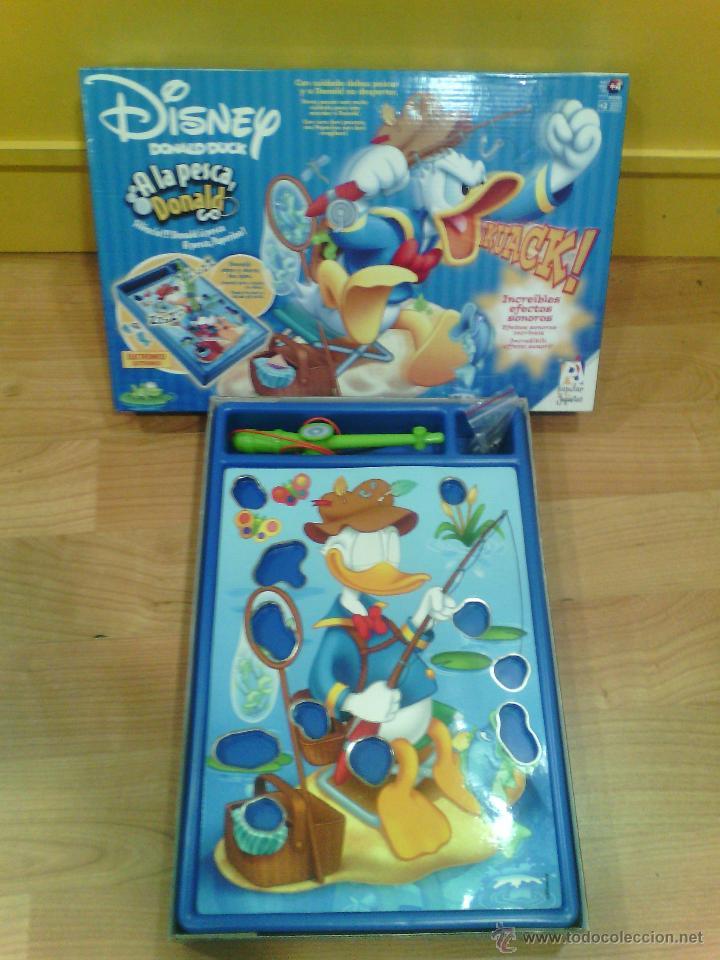 Donald A La Pesca Disney Popular De Juguetes Comprar Juegos De