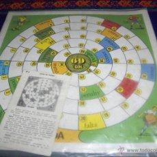 Juegos de mesa: COLECCIÓN JUEGOS FHER Nº 9 JUEGO DE FÚTBOL. 1969. MUY RARO.. Lote 46906651