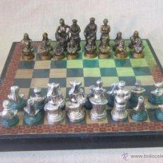 Juegos de mesa: AJEDREZ EN METAL. Lote 46912789