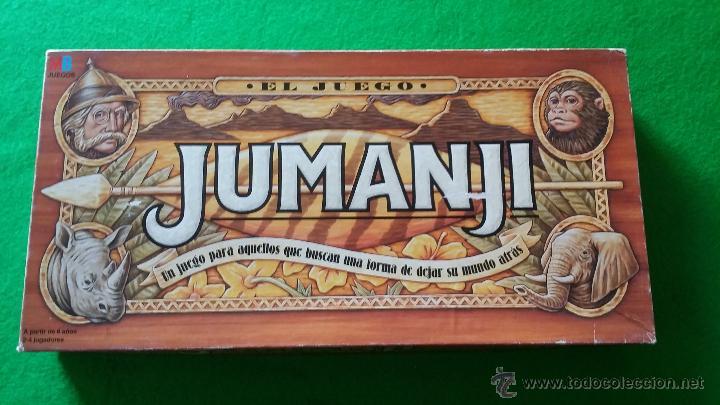 Juego De Mesa Jumanji De Mb Comprar Juegos De Mesa Antiguos En
