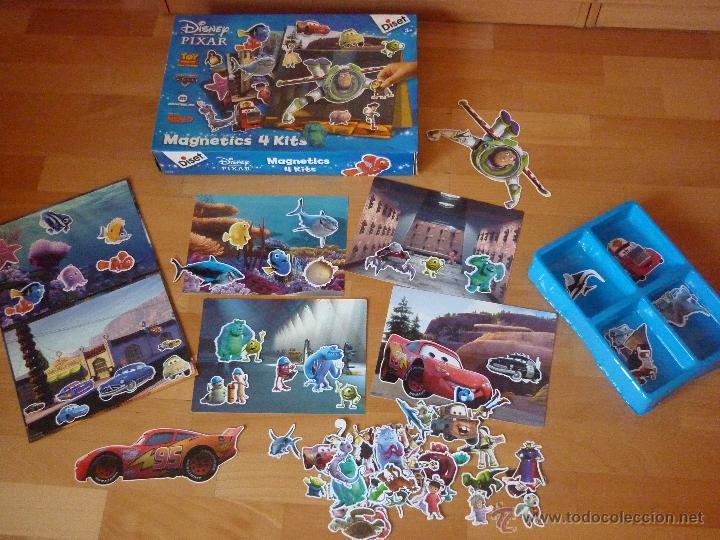 Juego Magnetics 4 Kits Disney Pixar Magneticos Comprar Juegos De