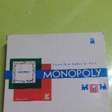 Juegos de mesa: JUEGO - JUEGO VINTAGE DE MESA MONOPOLY. JUGUETES BORRAS. MADE IN SPAIN. Lote 46951749