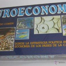 Juegos de mesa: JUEGO DE MESA .JUEGO EUROECONOMY, EN CAJA. CC. Lote 53443277