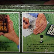 Juegos de mesa: ANTIGUO JUEGO DE MESA BOGGLE DE BORRAS. Lote 46975468