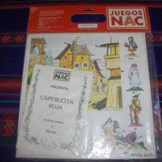 Juegos de mesa: JUEGOS NAC NIKE AND COOPER ESPAÑOLA SERIE TEATRO CAPERUCITA ROJA. 1983. PRECINTADO. DIFICILÍSIMO!!!!. Lote 47053848