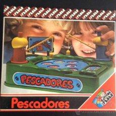 Juegos de mesa: ANTIGUO JUEGO DE RATITOS FEBER AÑOS 80 PESCADORES. Lote 47054559