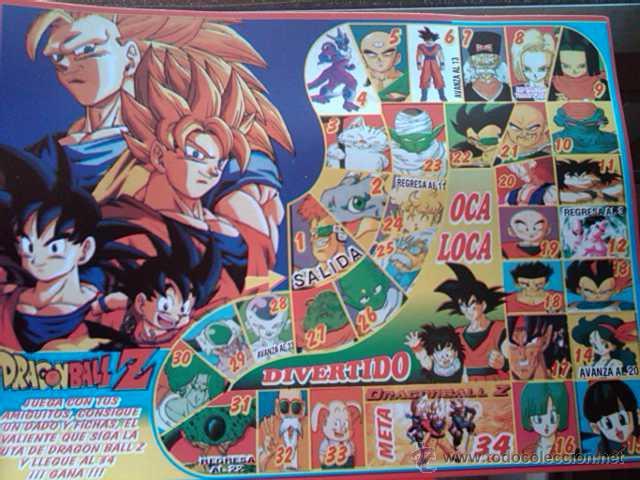 Dragon Ball Juego De La Oca Anos 90 Rareza Impo Comprar Juegos De