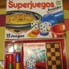 Juegos de mesa: M69 SUPERJUEGOS SUPER JUEGOS REUNIDOS DE CHICOS 15 COMPLETO. Lote 47121595