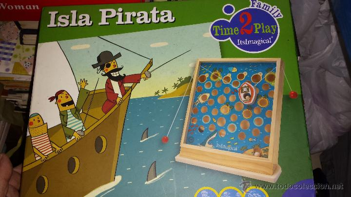 Isla Pirata De Madera Artesanal Y Ecologico Comprar Juegos De Mesa