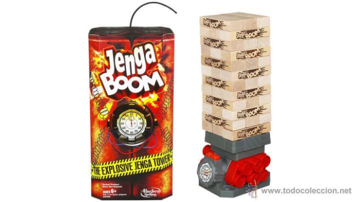Juego De Mesa Jenga Boom Nuevo Comprar Juegos De Mesa Antiguos