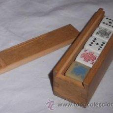 Juegos de mesa: JUEGO DE DADOS DE POKER. Lote 146619726