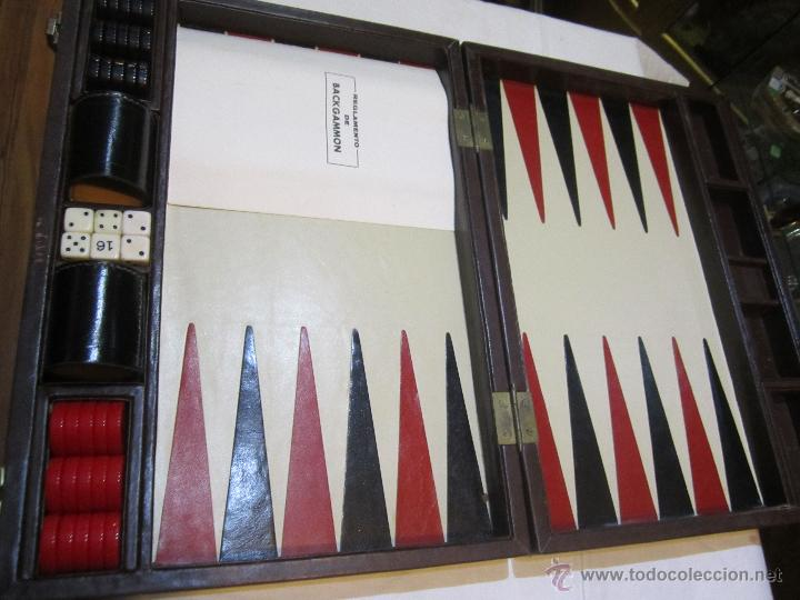 Juego Backgammon Gametapas