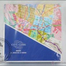Juegos de mesa: JUEGO DE MESA CITY GAME. MADRID, EL JUEGO DE LA CIUDAD - KATAPULTA - PRECINTADO - 27 X 27 X 8 CM. Lote 47445297