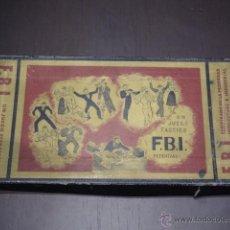 Juegos de mesa: F.B.I. FBI UN JUEGO TACTICO - JUEGOS CRONE. Lote 47571014