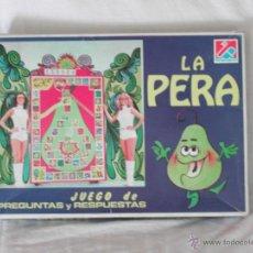 Juegos de mesa: JUEGO LA PERA, DEL UN, DOS, TRES.... Lote 47580799