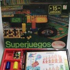 Juegos de mesa: JUEGOS - ANTIGUOS SUPERJUEGOS REUNIDOS DE CHICO. Lote 237533700
