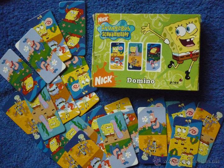 juego de domino de bob esponja completo 21 ca  Comprar Juegos