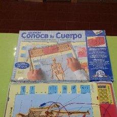 Juegos de mesa: JUEGO - LECTRON CONOCE TU CUERPO - DE DISET. Lote 47742930