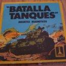 Juegos de mesa: BATALLA TANQUES JUEGO MAGNETICO RIMA. REF. 2047. COMPLETO. PORTATIL IDEAL VIAJES. JUGUETE. AÑOS 70.. Lote 161301828