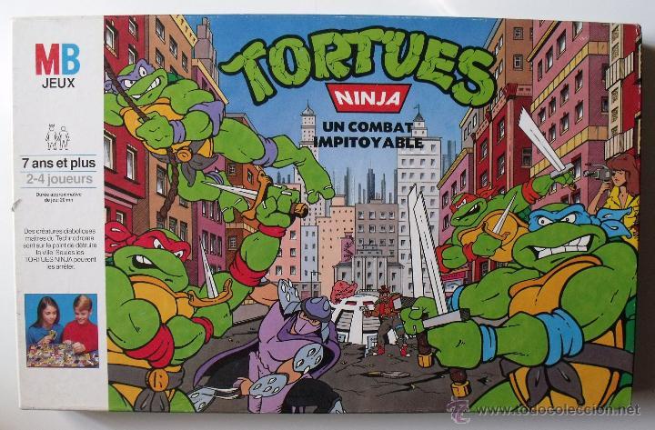 juego de mesa tortues ninja un combat impitoyab  Comprar Juegos