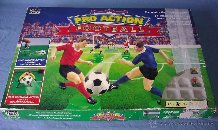 Juego De Mesa De Futbol Pro Action Football Del Comprar Juegos De
