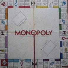 Juegos de mesa: JUEGO *MONOPOLY* JUGUETES BORRAS 1961. TABLERO CALLES MADRID. BILLETES EN PESETAS. PARKER BROTHERS.. Lote 47891289