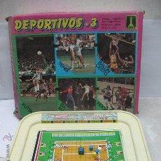 Juegos de mesa: RIMA - JUEGO DE MESA MAGNÉTICO DEPORTIVOS 3. Lote 47891895