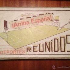 Juegos de mesa: EXCEPCIONAL JUEGO CENSURADO POR EL FRANQUISMO 1936 SPORT'S REUNIDOS. Lote 47904785