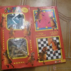Juegos de mesa: AJEDREZ Y 3 EN RAYA. MARCA VIDAL,FABRICADO EN ESPAÑA.. Lote 47908376