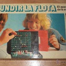 Juegos de mesa: JUEGO DE MESA. HUNDIR LA FLOTA. AÑOS 80. VER FOTOS. Lote 47916503