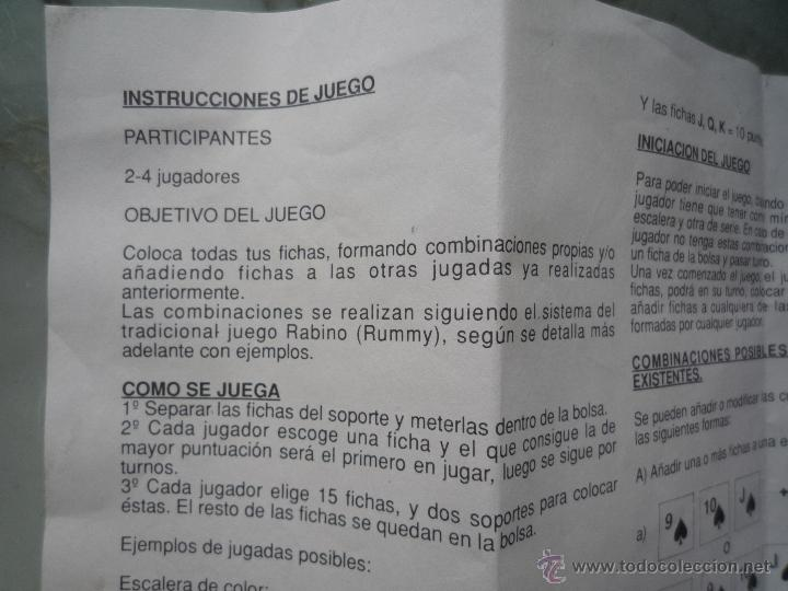 Antiguo Juego Rummy Rummikub Completo 108 Fich Comprar Juegos De