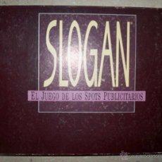 Juegos de mesa: SLOGAN DISET AÑOS 80 COMPLETO JUEGO DE LOS SPOTS PUBLICITARIOS. Lote 48356362