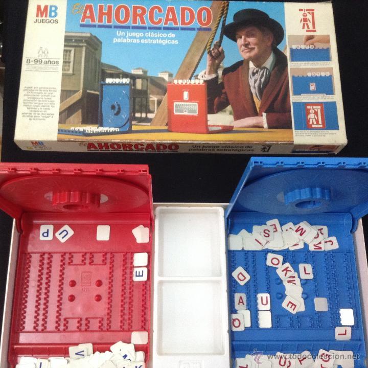ANTIGUO JUEGO DE MESA AHORCADO DE MB - ARM01 (Juguetes - Juegos - Juegos de Mesa)