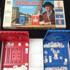 Juegos de mesa: ANTIGUO JUEGO DE MESA AHORCADO DE MB - ARM01. Lote 116905471