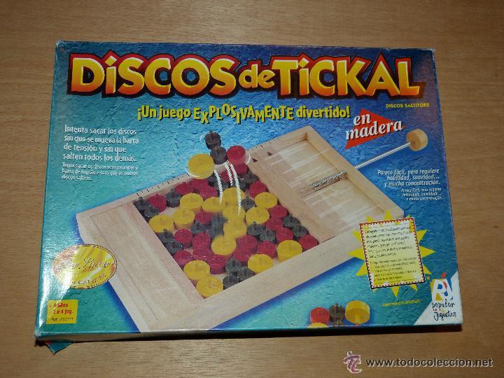 MaderaMuyMuy De Difícil En Discos Made In Spain Estado Tickalpopular JuguetesBuen Juego CsxtrhQd