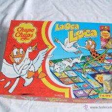 Juegos de mesa: JUEGO DE LA OCA LOCA ORIGINAL DE CHUPA-CHUPS.. Lote 48477467