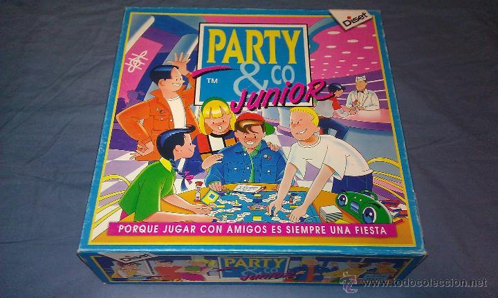 Original Juego De Mesa De Los Anos 90 Party C Comprar Juegos De