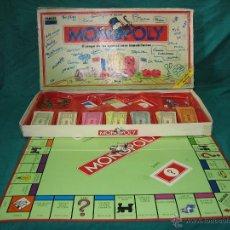 Juegos de mesa: JUEGO DE MESA MONOPOLY DE PARKER 1992. Lote 98241592