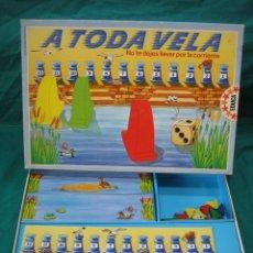 Juegos de mesa: JUEGO DE MESA A TODA VELA DE EDUCA 89. Lote 48598128