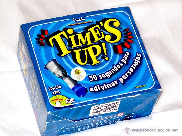 Juego Time S Up Edicion Azul Espana 30 Segu Comprar Juegos De