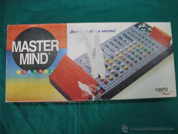Juegos de mesa: Juego de mesa Master Mind de Cayro - Foto 4 - 48620235