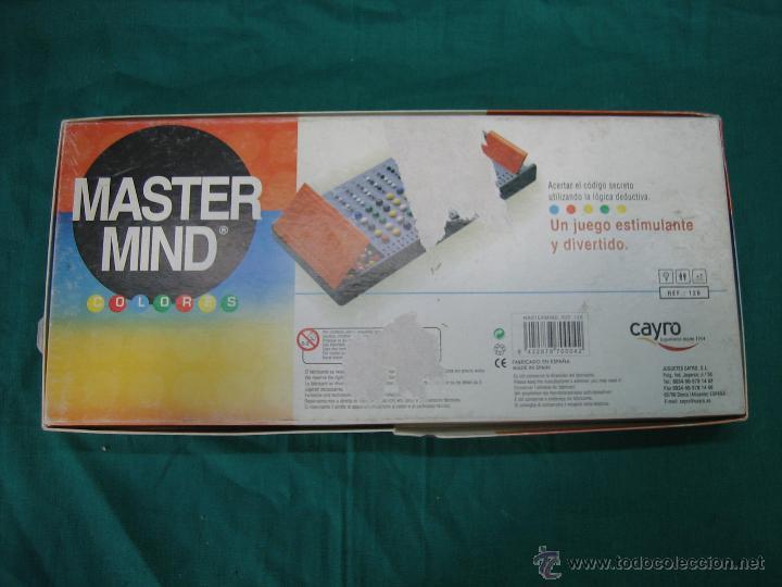 Juegos de mesa: Juego de mesa Master Mind de Cayro - Foto 5 - 48620235