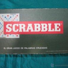 Juegos de mesa: JUEGO DE MESA SCRABBLE DE BORRAS 1979. Lote 48620252